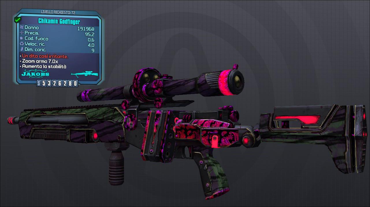 Borderlands 2 - Armi senza Missioni